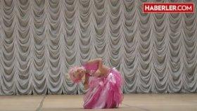 6 Yaşındaki Küçük Kızdan Jüriyi Hayran Bırakan Dans Şovu