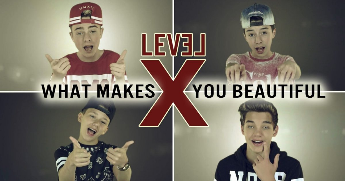 Level x what makes you beautiful one direction cover for What make a beautiful