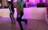Türbanlı Kızdan Süper Kolbastı Dansı