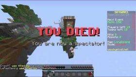 Minecraft Mini Games # Sky Wars Bolum 23 - Gene Ezildik ! ! !