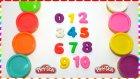 Oyun Hamuru ile sayıları öğreniyorum | 1 den 10 a kadar sayıların nasıl yazıldığını öğrenin