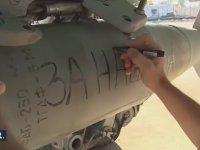 Suriye'yi Bombalayan Rus Füzelerine Yazılan Not