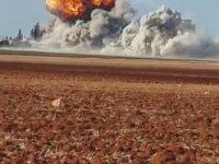 Rus Uçaklarınını Ekmek Fırınını Bombalaması