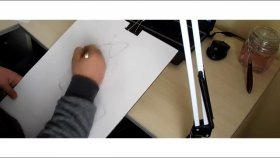 Figür Çizimi - Kara Kalem
