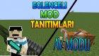 Minecraft : Eğlenceli Mod Tanıtımı : Av Modu - Av Tüfeği , Pompalı ve Ölüm Animasyonu