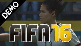 FIFA 16 ( Demo ) | Almanya Kadın Milli vs ABD Kadın Milli ( Türkçe )