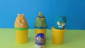 Çöps Çetesi Sürpriz Yumurtası ve Oyun Hamurundan Çöpsler