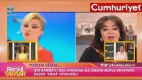 Lerzan Mutlu'nun Oya Aydoğan'a 'sinsi' Dediği Görüntüler Ortaya Çıktı