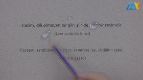 İki Kalem İle Su Damlacıkları Çizimi - Mükemmel Çizimler