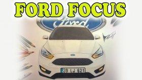 Ford Focus Çizimi ( Drawing , Art , Araba Çizimleri ) My Çizim