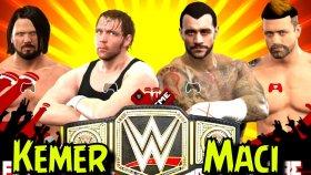 Pusatin efsane Kemer Koruma maçı ! WWE2K17