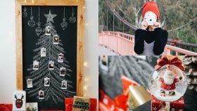Kara Tahta Yılbaşı Ağacı / KENDİN YAP / DIY