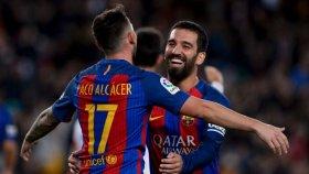 Barcelona 7 - 0 Hercules - Maç Özeti izle ( 22 Aralık 2016 )