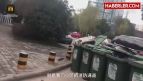 Çinli Temizlik İşçisi Sorumsuz Sürücüye Ceza Verdi