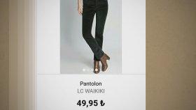 Lc Waikiki / Kadın Pantolon Modelleri / İndirimli Fiyatları