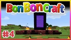 Nether Portal Tasarımı - Minecraft Türkçe Survival - BonBonCraft - Bölüm 4