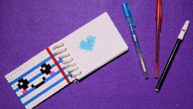 Hama Boncuklu Defter Yapımı | Hama Beads | Notebook