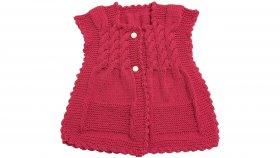Burgulu Bebek Yeleği Nasıl Yapılır ? ( Baştan Sona Anlatım ) - örgü modelleri - knitting pattern