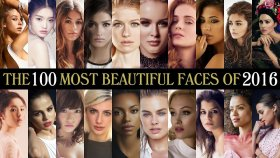 2016'nın En Güzel Yüzüne Sahip 100 Kadını