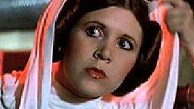 Star Wars'un Prenses Leia'sı Carrie Fisher'ın Oyuncu Seçmelerindeki Görüntüleri