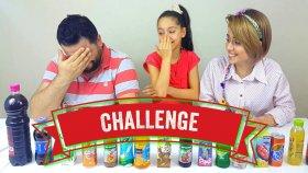 Kuzenim Sinem Ve Babam İle KOMİK Smoothie CHALLENGE ! !