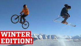 Kış Sporlarında 2016'nın En Muhteşem Yetenekleri