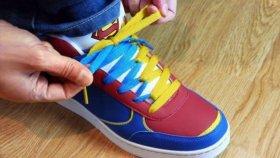 Supermen Ayakkabı Bağcıkları Nasıl Yapılır ?