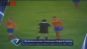 Recep Çetin'in Bulgar Hakeme Efsane Tepkisi
