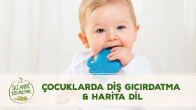 Çocuklarda diş gıcırdatması neden olur ? Harita dil nedir ? #10   Bebeklerde Ağız ve Diş Sağlığı