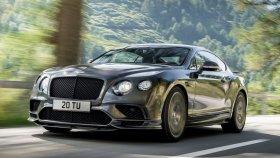Bentley Tarihinin En Güçlüsü : 2017 Continental GT Supersports