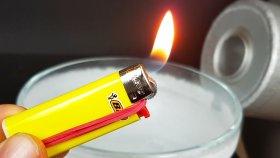 Çakmağı Sıvı Nitrojen İçine Koyarsanız Ne Olur ?