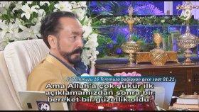 Darbe girişimi gecesi Sayın Adnan Oktar'ın konuşmalarından sonra şok dalgası kırıldı