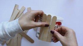 Çubuklarla Yapabileceğiniz 5 DIY !