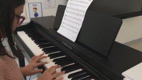 Czerny no : 1 Piyano Çalışması Öğrenci Nehir Çimşir Ankara Simpaş Oran Mektebim Öğretmen Başar Özgür