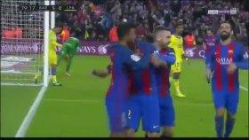 Barcelona 5 - 0 Las Palmas - Maç Özeti izle ( 14 Ocak 2017 )