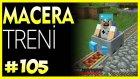 Macera Treni ve Yeni Planlar - Minecraft Türkçe Survival - Bölüm 105