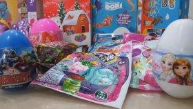 YENİ ! ! ! ! ! Sürpriz Yumurta Açma | Kinder , Winx , Elsa , Cars , My little Pony , Dori , Pepe , Harika Kanatlar