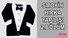Örgü Smokin Hırka Modeli Nasıl Örülür 2 Bölüm