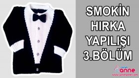 Örgü Smokin Hırka Modeli Nasıl Örülür 3 Bölüm