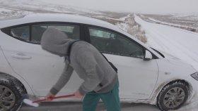 Kar ile Araba Yıkama Çelınç