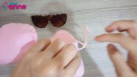 Gözlük Kılıfı Yapılışı - DIY - Kendin Yap