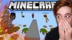HAVADAKİ KALELERDE SAVAŞ ! - Age of Minecraft #1
