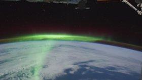 ISS ile Üstten Kısa Dünya Turu ( Time Lapse Footage )