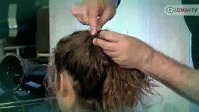 Kıvırcık Saçlılar İçin At Kuyruğu Modeli