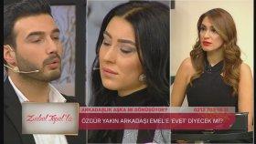 Özgür Kendisine Talip Gelen Arkadaşına Öyle Bir Cevap Verdi Ki. | Zuhal Topal'la 30 Ocak Pazartesİ