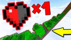 Minecraft'ta Yarım Kalple Hayatta Kalabilir Misin ?