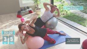 Pilates Topu ile Evde Egzersizler - Pilates Topu Hareketleri
