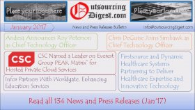January 2017 News And Press Releases Bulletin Outsourcing Digest