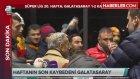 Galatasaraylı Taraftarlar Canlı Yayında Beyaz Mendil Salladı