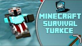 ORMANA DOĞRU UÇACAĞIZ KANKA Minecraf Türkçe Survival Multiplayer Bölüm17